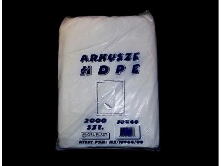 Arkusze HDPE 30x40