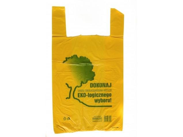 Reklamówka ekologiczna 30x55