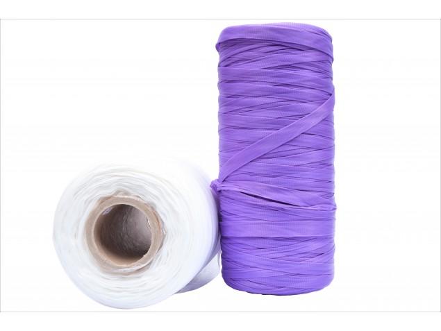 Siatka na czosnek biała/fioletowa 500m
