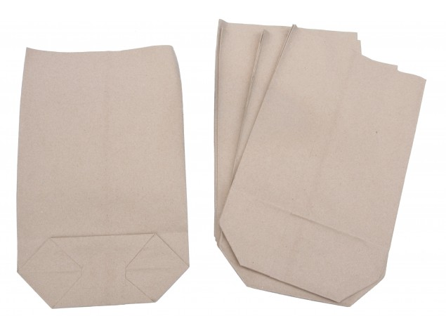 Torby papierowe szare nr 55 - 1 kg, paczka 10kg